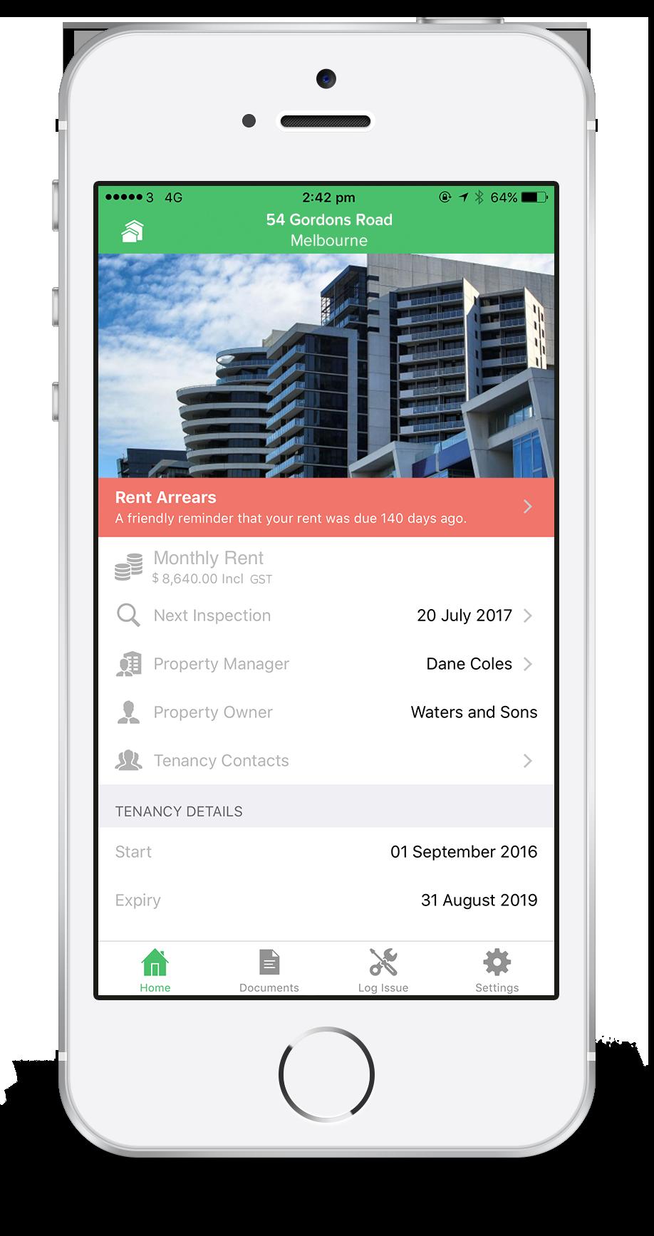 tenant mobile app